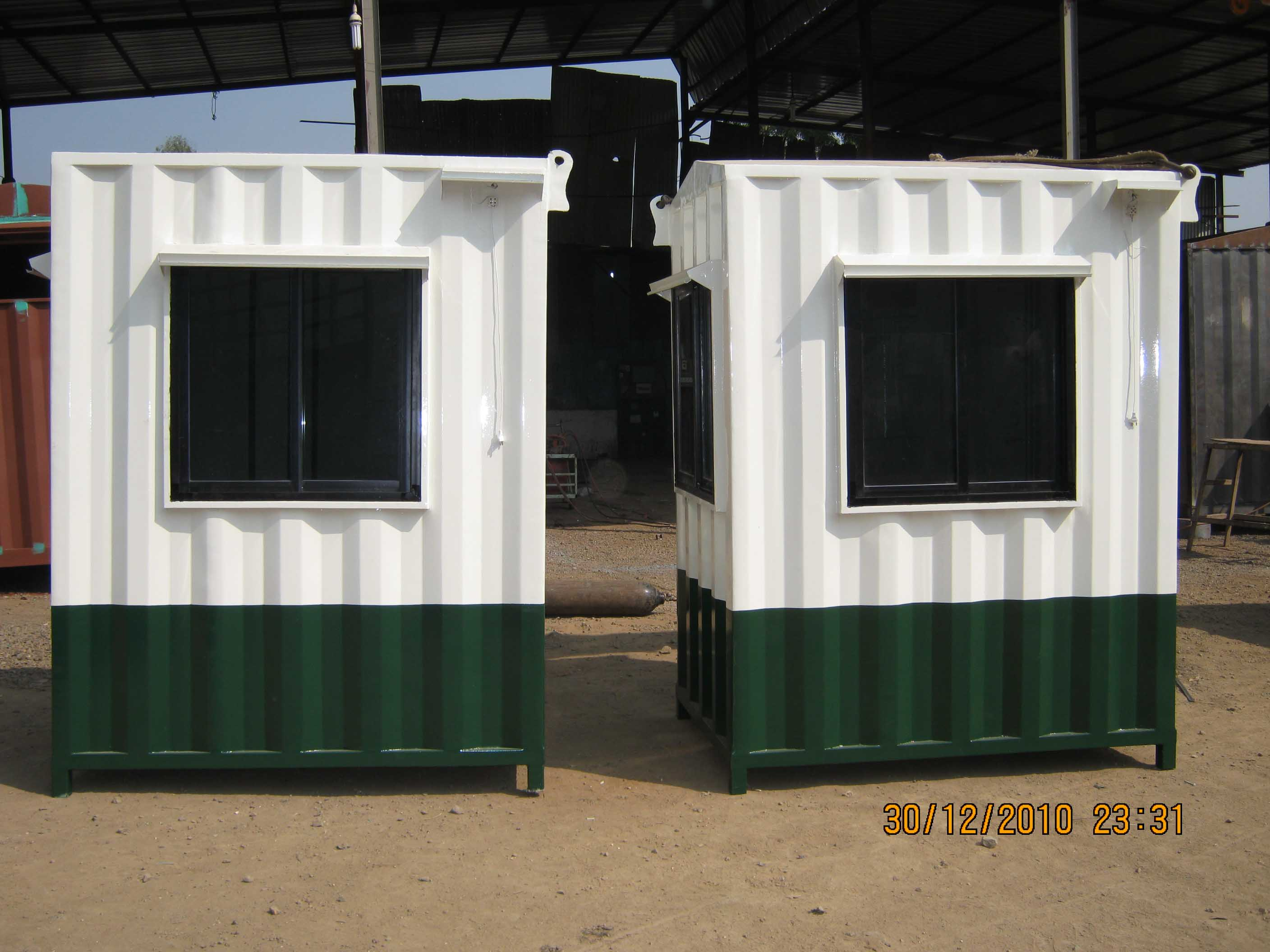 Portable Security Cabin01