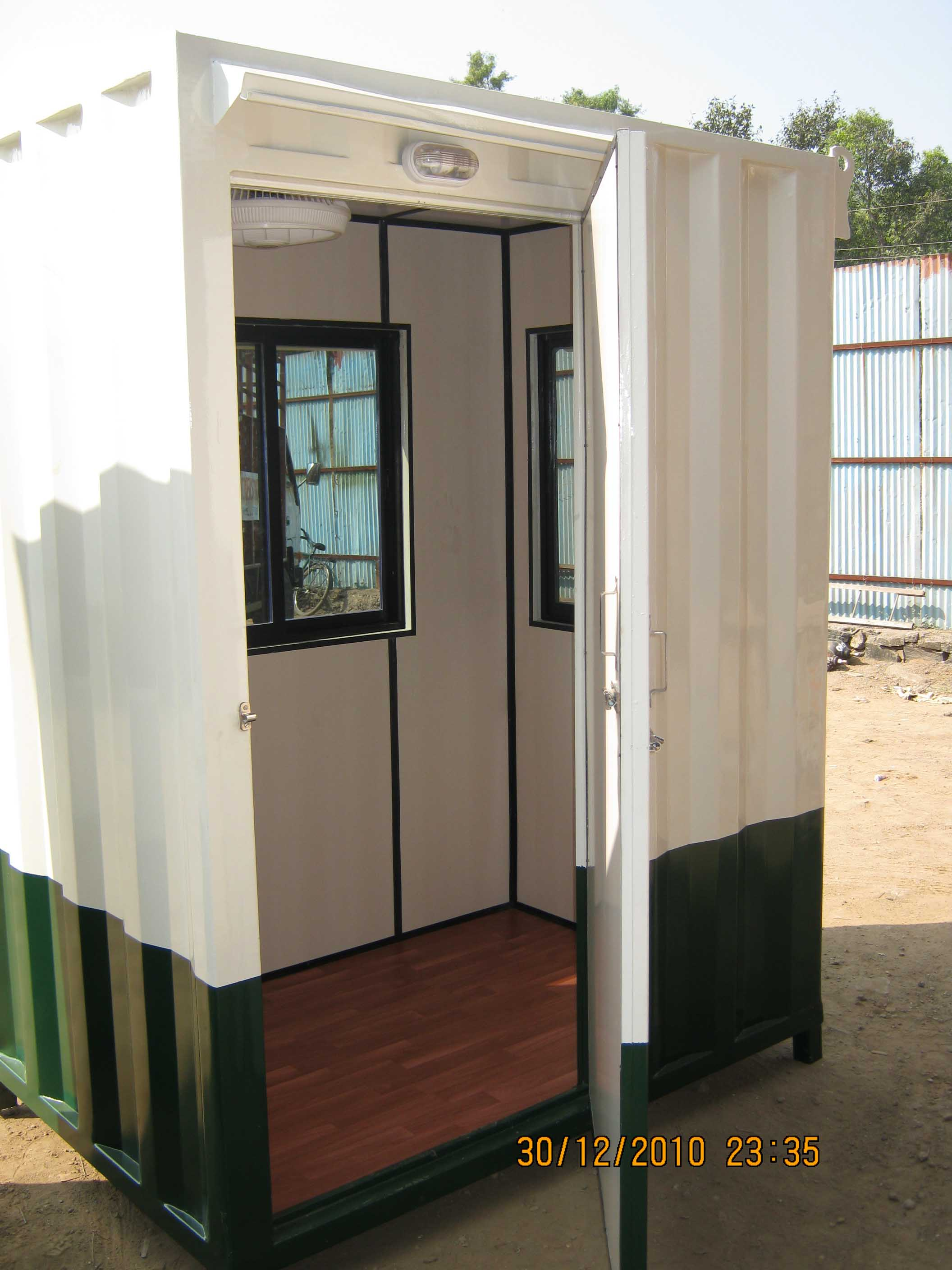 Portable Security Cabin03