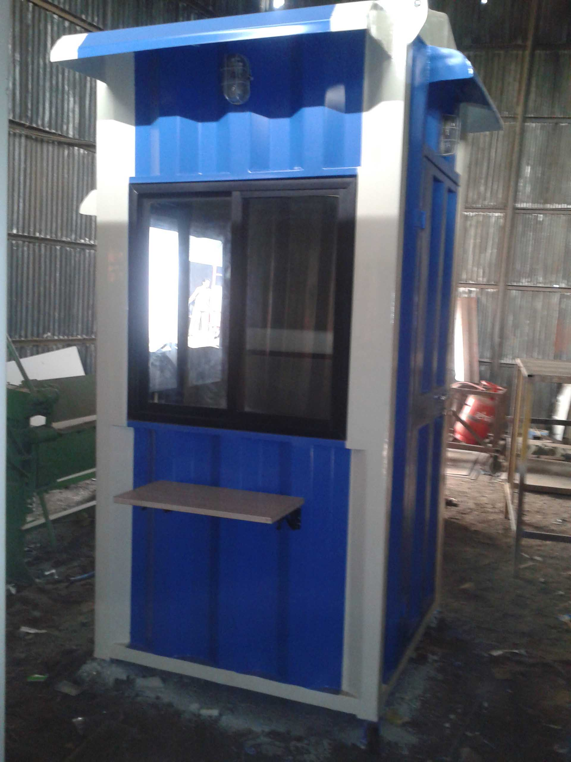 Portable Security Cabin04