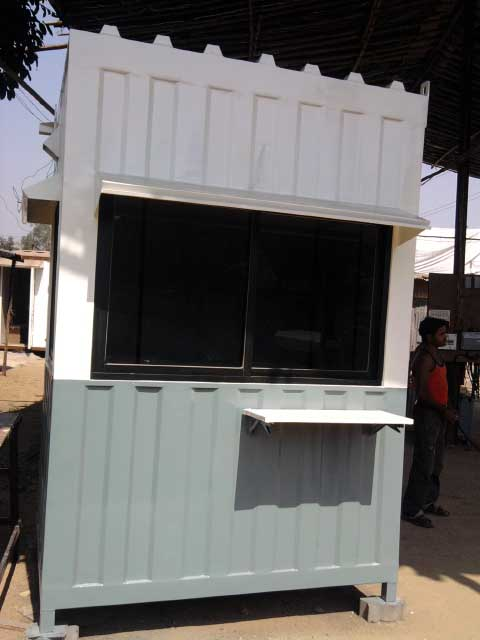 Portable Security Cabin08